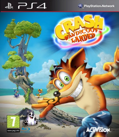 Crash Bandicoot PS4 Box Art