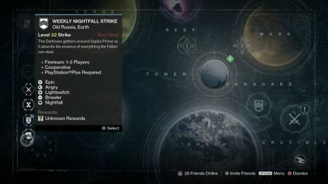 Destiny Weekly Nightfall Strike May 26 Week