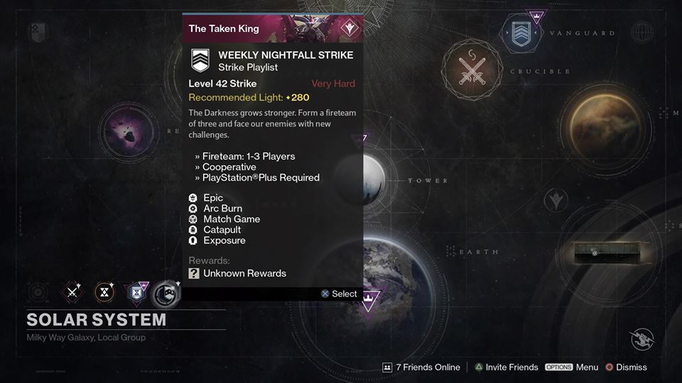 is there matchmaking for nightfall Destiny 2 's warmind dlc has finally arrived alongside a brand-new patch below, you'll find the patch notes for the 6gb update that includes fresh content for.