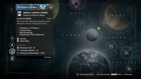 Destiny May 26 Weekly Heroic Strike
