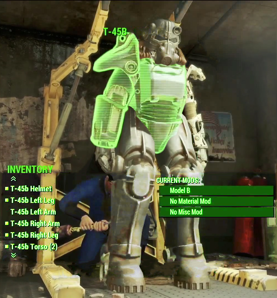 Fallout 4 Guide Locations To T 45 And T 51 Power Armor