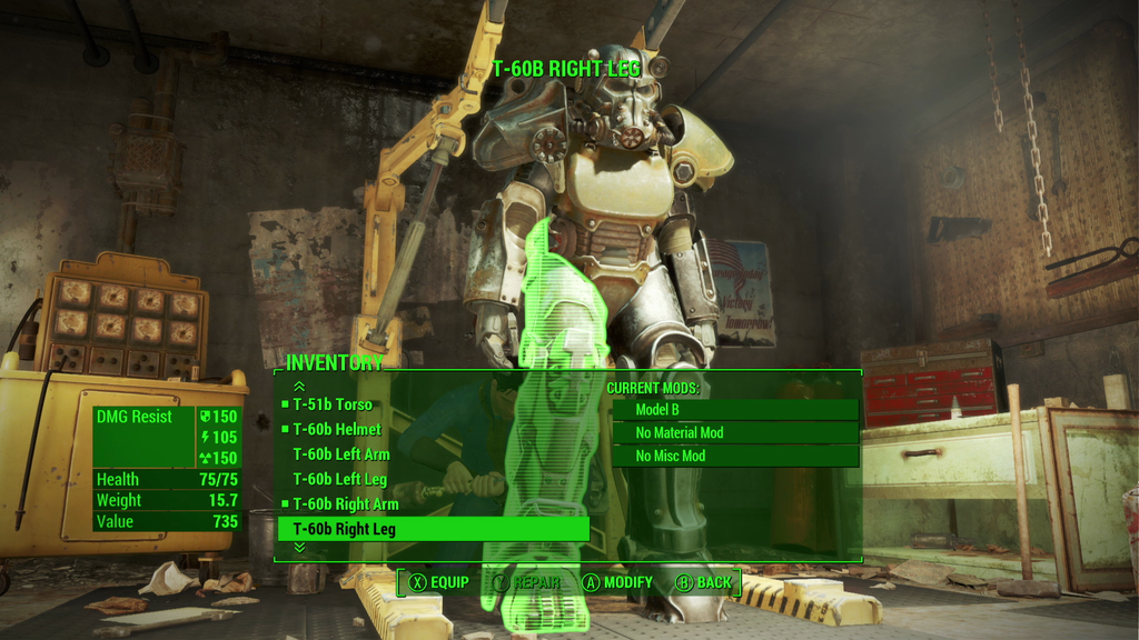 Fallout 4 - Mod potential with new armor/weapon system? Fallout-4-power-armor-customization