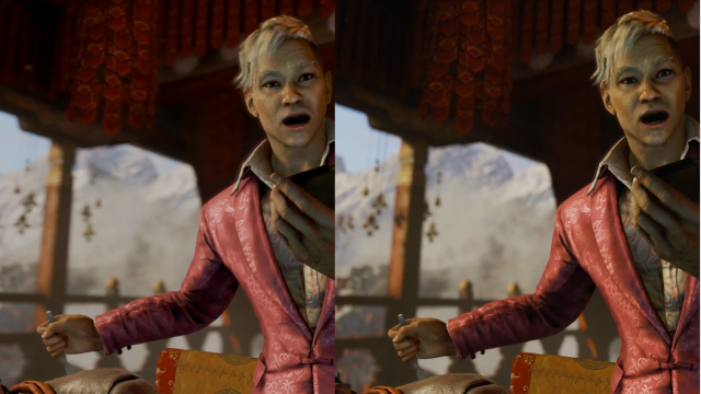 Far Cry 4 Xbox One vs PS4 Screenshot 2