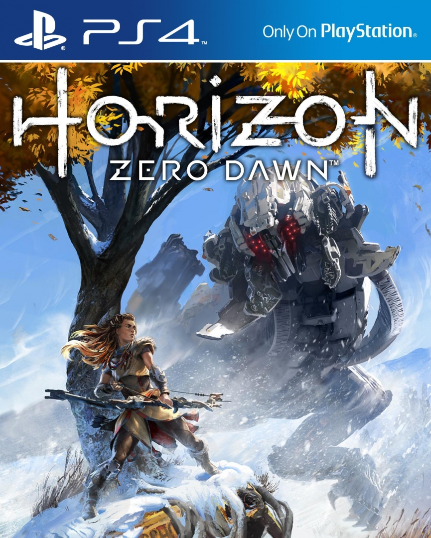 How Ps4 Games Look : New horizon zero dawn promotional art released ps