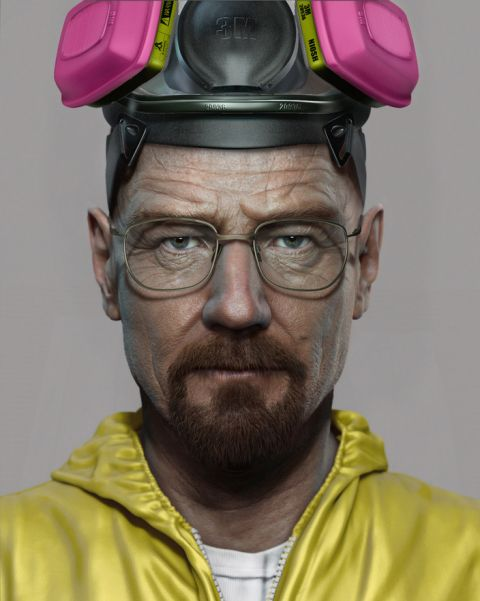 Breaking Bad Character Model Screenshot 1 From Naughty Dog