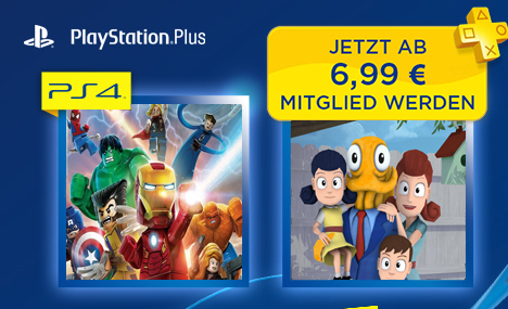 possible ps plus free ps4 games for mar 2015 for europe leaked octodad and lego marvel super. Black Bedroom Furniture Sets. Home Design Ideas