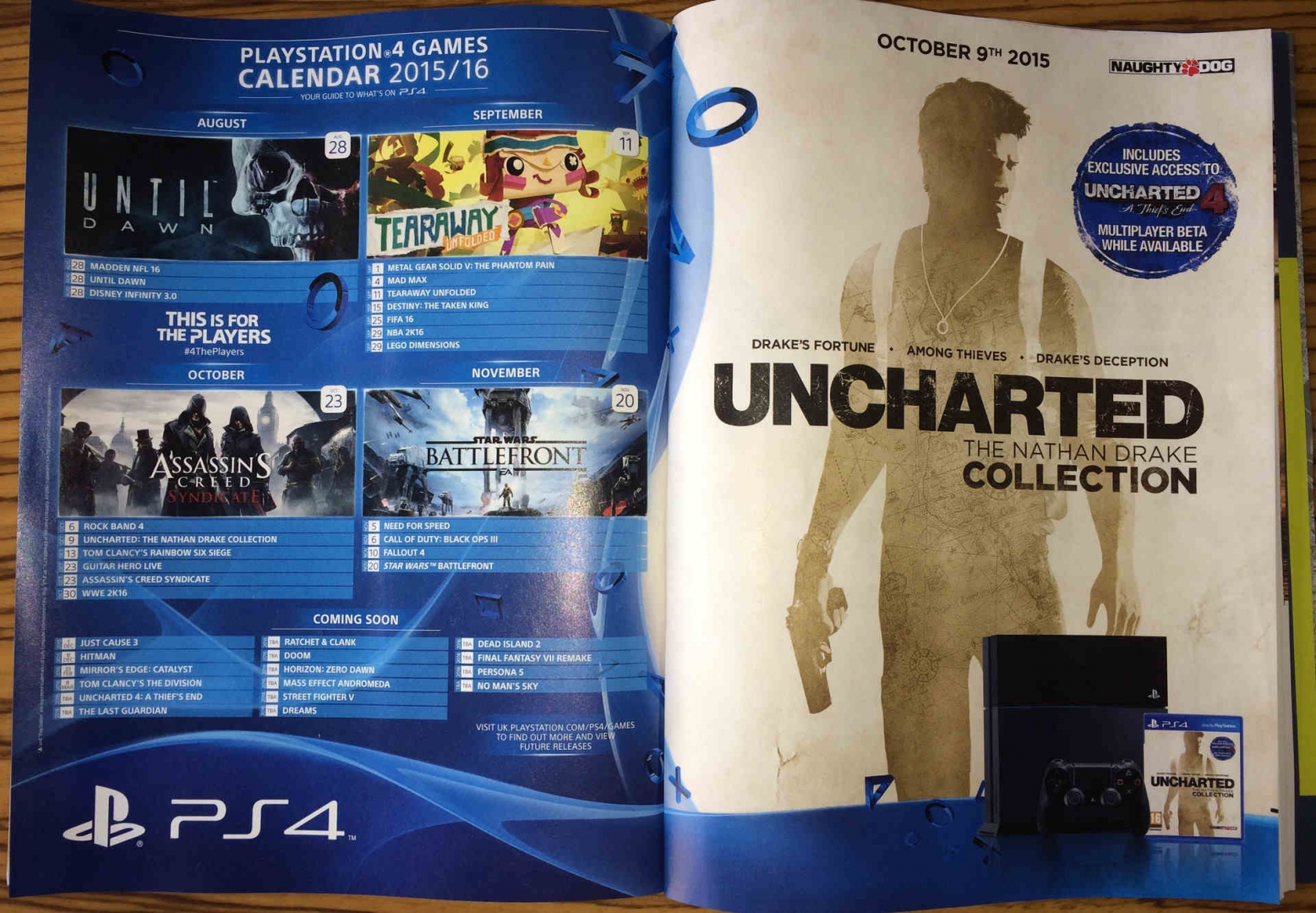 Ps4 games release dates