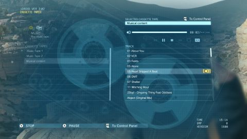 MGS V: The Phantom Pain Custom Soundtrack Guide Screenshot 3