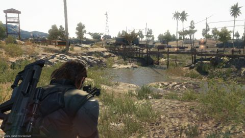 MGS V: The Phantom Pain Xbox 360 Screenshot