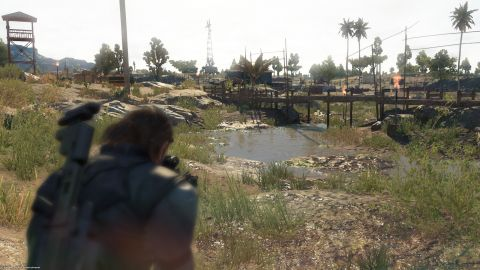 MGS V: The Phantom Pain Xbox One Screenshot