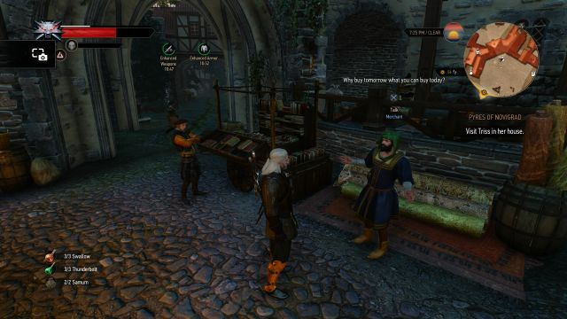 The Witcher 3: Wild Hunt Book Selling Guide Location