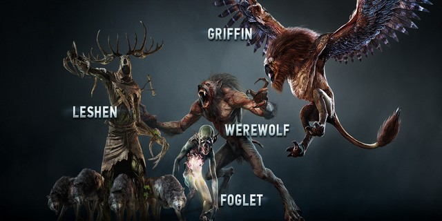 The Witcher 3: Wild Hunt Huge Bosses