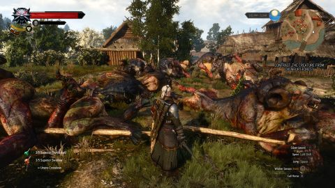 The Witcher 3: Wild Hunt Cow Exploit