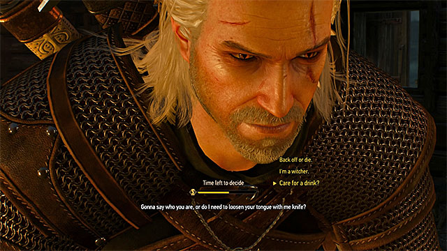 The Witcher 3: MORAL AND ETHICAL DECISIONS