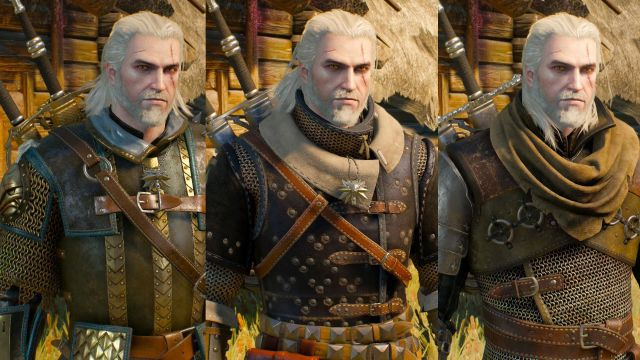 The Witcher 3: Wild Hunt Gear and Weapon Set