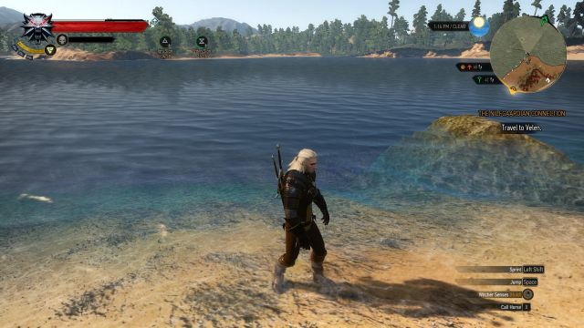 The Witcher 3: Chest Off-Shore Location Screenshot 2