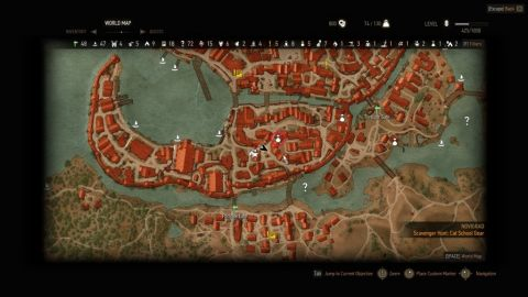 Witcher 3: 100 Plus Saddlebags Map Location
