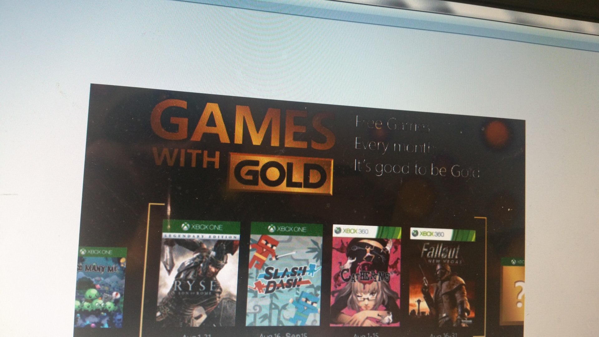 Games with Gold: September 2015 - Thurrott.com