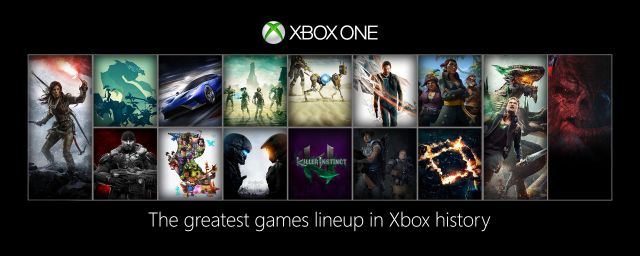 Xbox One Games Line-up for 2015 and 2016