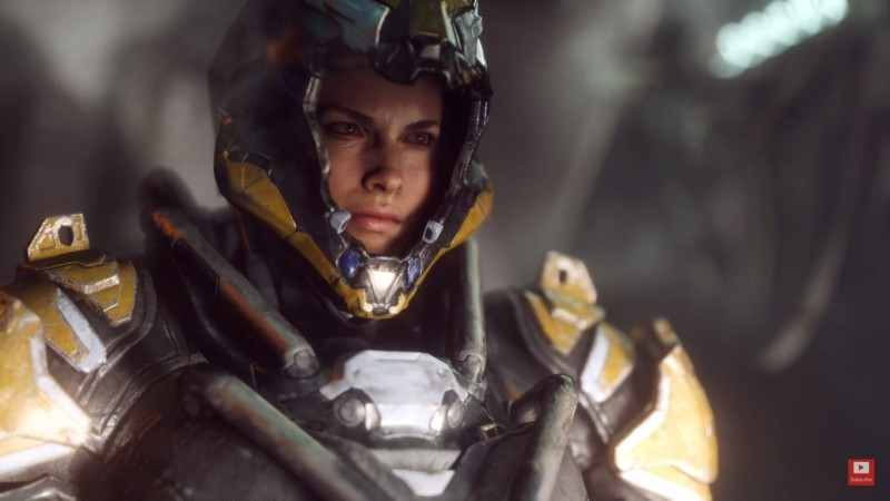 Mass Effect Lead Writer is Working on Anthem