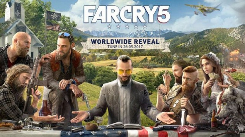 Ubisoft reveals first Far Cry 5 art and it's a doozie