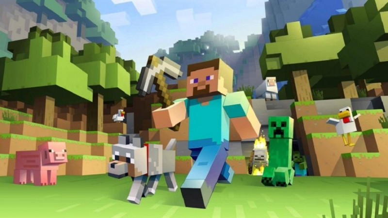 Minecraft - Nintendo Switch Version Bigger Than PS3