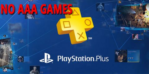 PS Plus No AAA Games Since Very Long