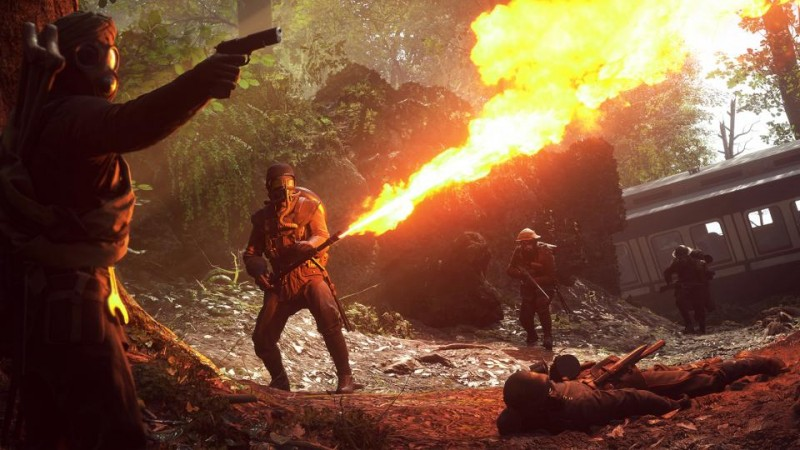 Battlefield V Battle Royale Mode in the Works