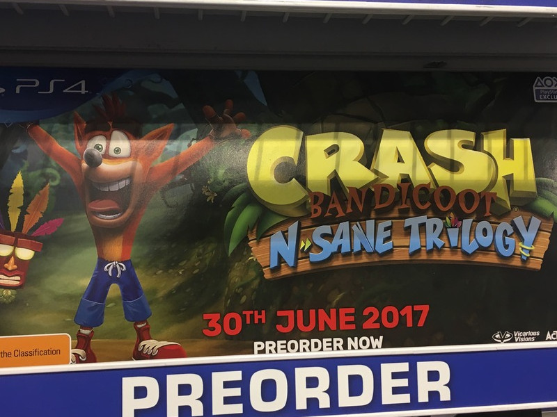 Crash Bandicoot N.Sane Trilogy PlayStation 4 Exclusivity Stressed By GameStop