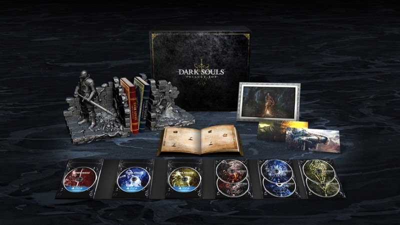 Dark Souls Trilogy Boxset Announced as a PS4 Exclusive