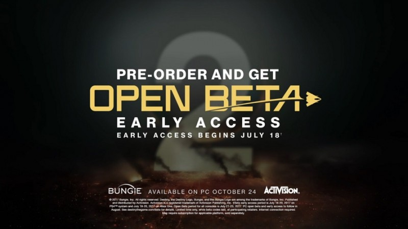 Destiny 2 Beta Pre-Loads Now Available