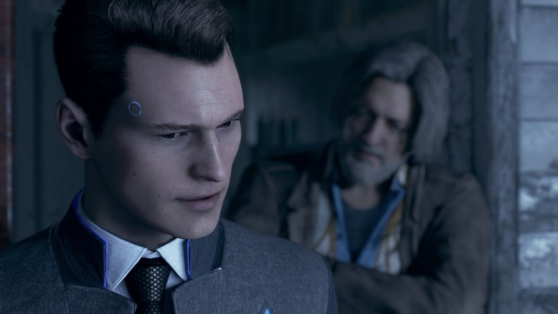 Detroit Become Human Connor Wallpaper: Detroit: Become Human PS4 Size Revealed, David Cage Talks