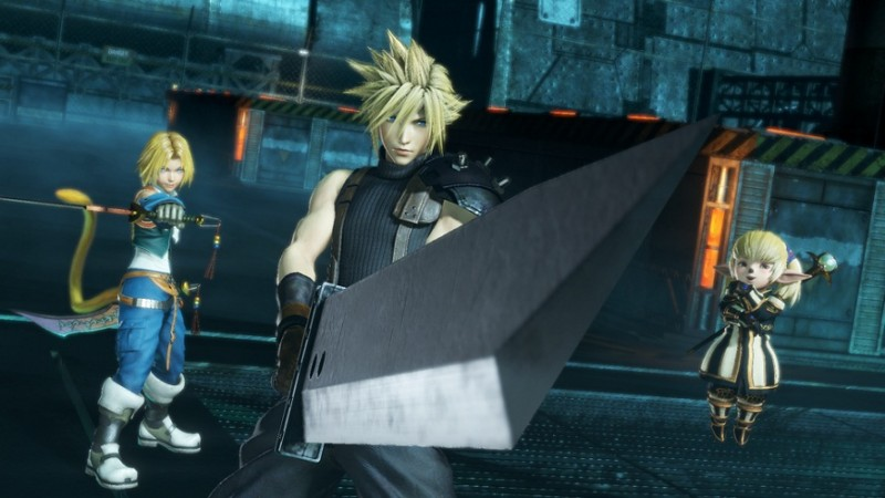 Watch the Dissidia Final Fantasy NT Ultimate Collector's Edition Get Unboxed