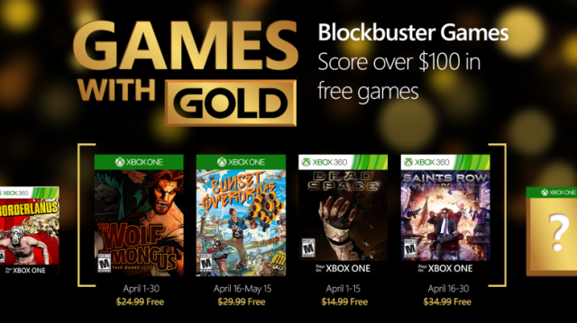 Games With Gold Competition