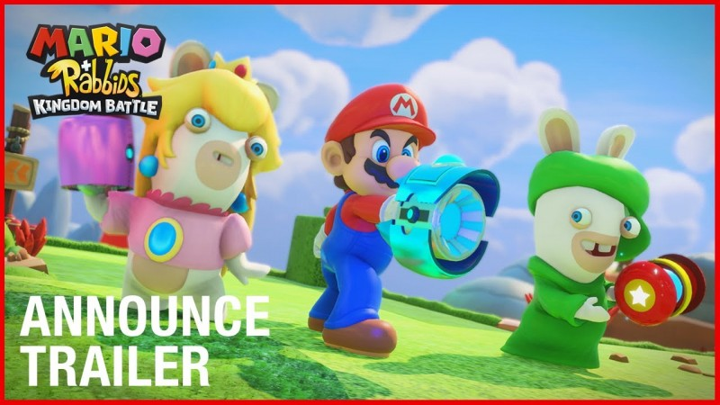 Mario + Rabbids Kingdom Battle: First gameplay footage