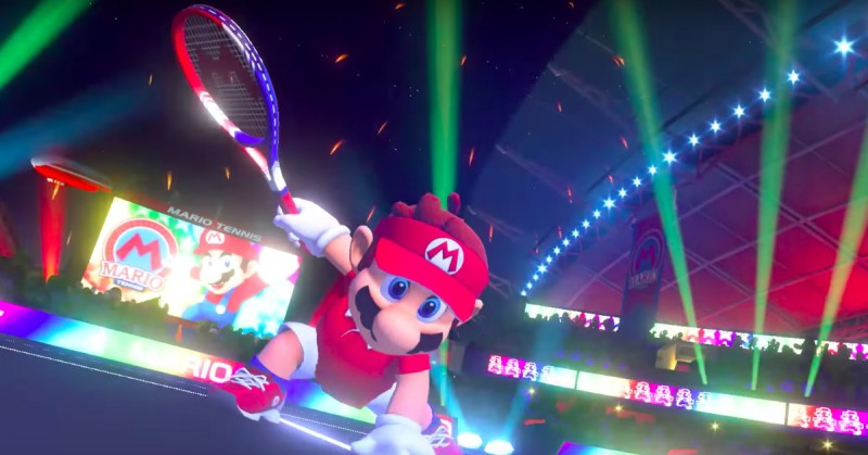 Nintendo Releases New Trailer for Mario Tennis Aces