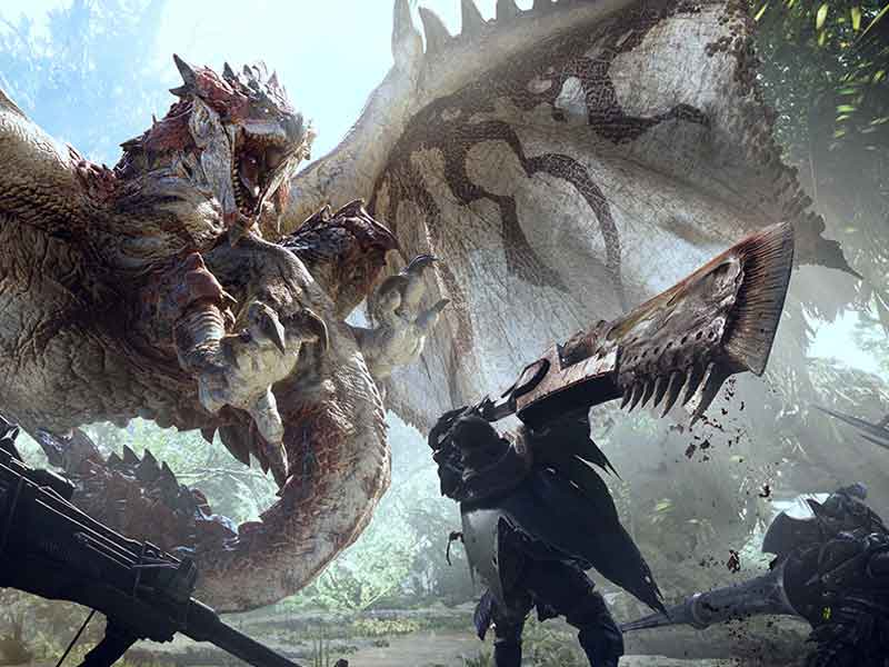 Capcom to release Monster Hunter