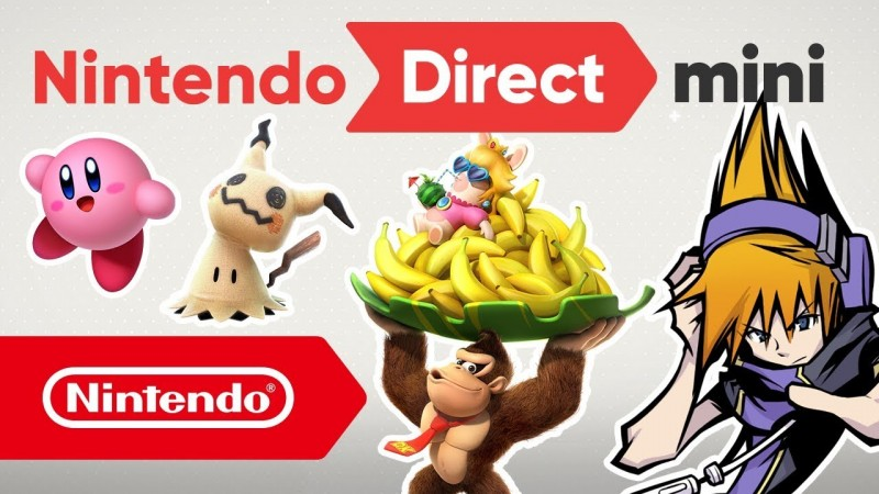 Nintendo Direct Mini Unveils a Bunch of Upcoming Switch Games
