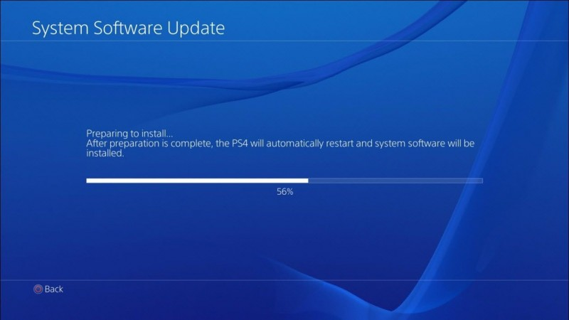 how to delete update files on ps4