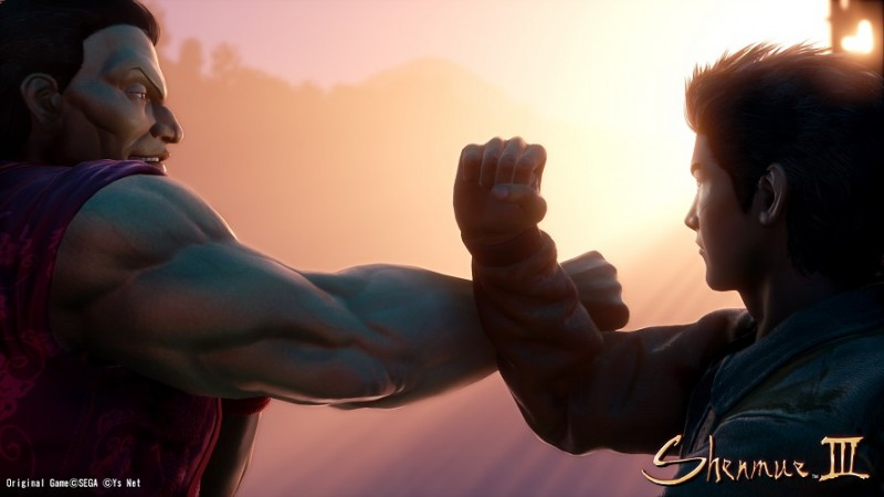 Shenmue III's stiff facial animations are temporary