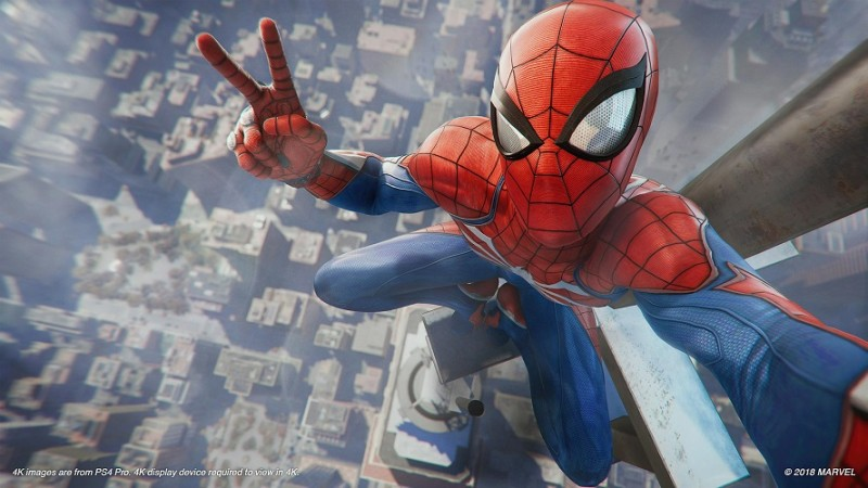 Watch new Spider-Man gameplay ahead of today's release date news