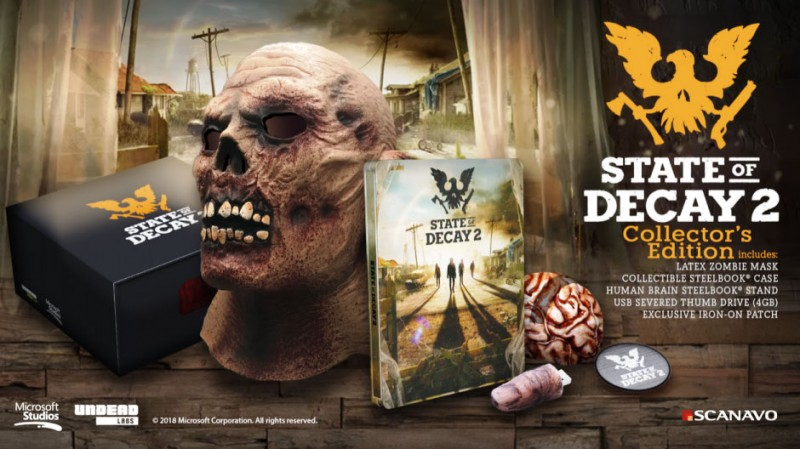 State of Decay 2 Xbox One X Enhancements detailed