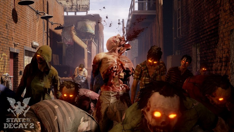 State of Decay 2 Xbox One X Improvements Video
