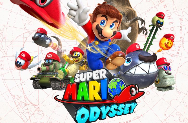 Super Mario Odyssey Review Information