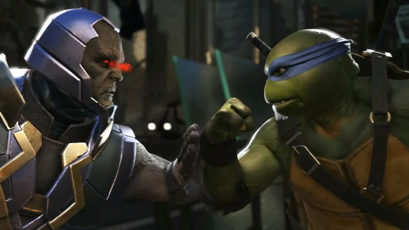 Injustice 2 trailer shows off TMNT skills, pizza is included