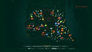 The Division Safe House Map Location