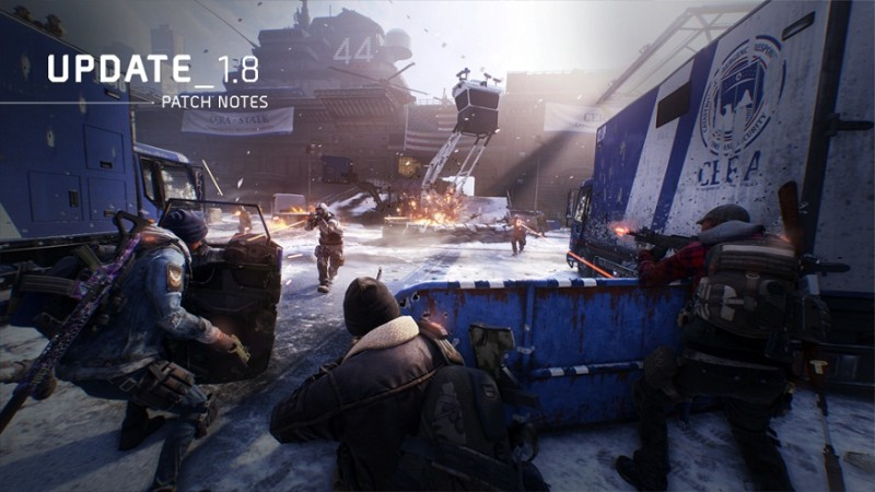 The Division Update 1.8 Patch Notes