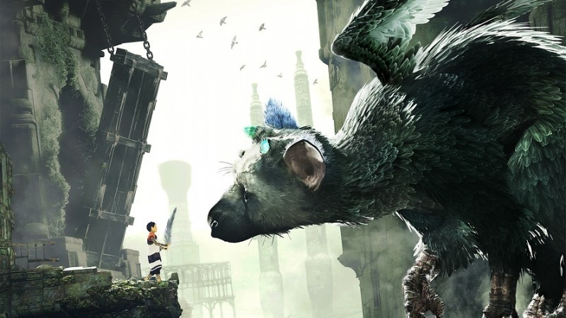 This trailer for The Last Guardian is being shown in United States cinemas
