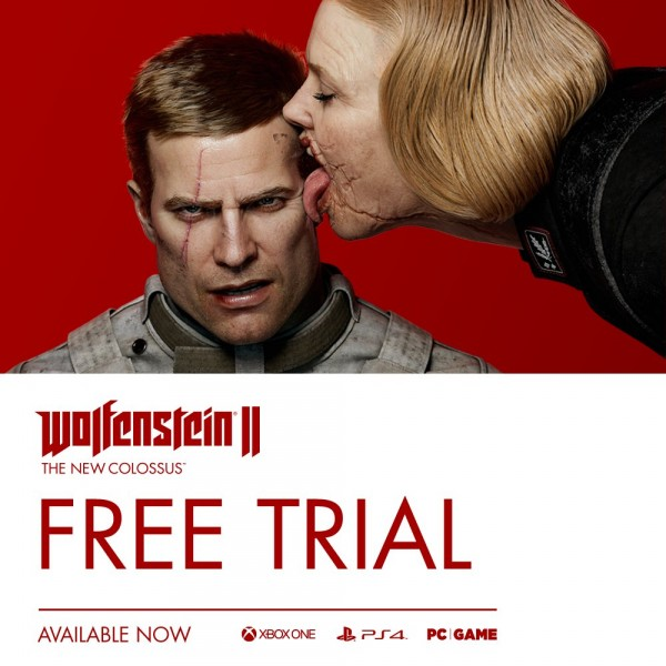 Wolfenstein II: The New Colossus gets a free trial