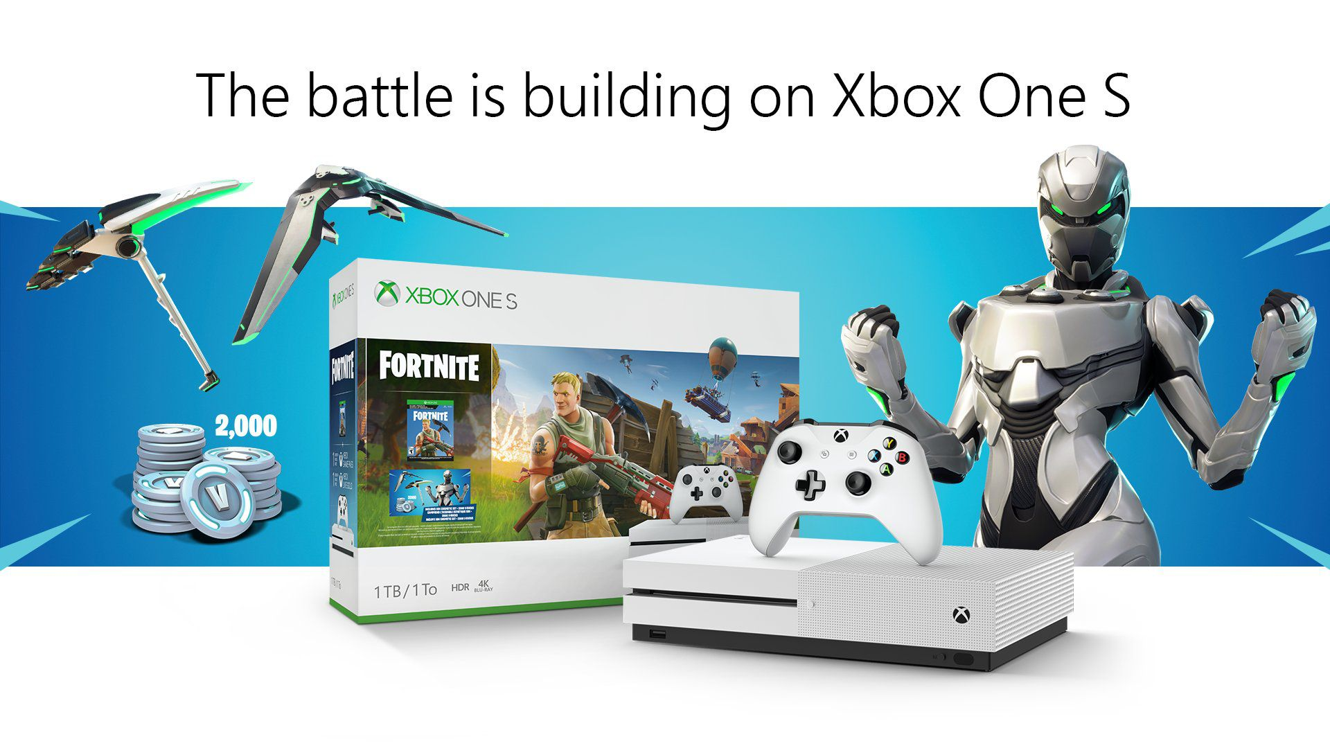 Xbox One S Fortnite Bundle Claims It Features Full Game